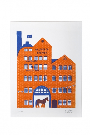 Limited Edition A4 Screen Print