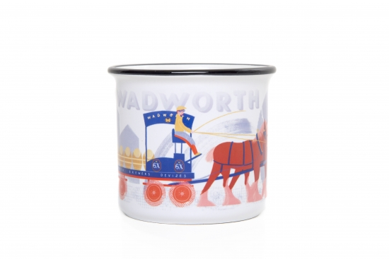 Ceramic Shire Horse Coffee Mug