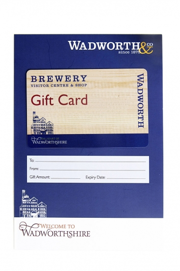 Visitor Centre & Brewery Shop £25 Gift Card