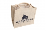 6 Bottle Wadworth Jute Bag