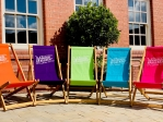 Wadworth Branded Deck Chair
