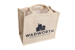 6 Bottle Wadworth Jute Bag