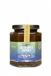 Swordfish Ale & Apple Chutney