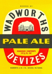 Set of Vintage Wadworth Label Posters