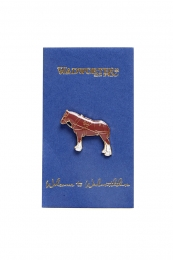 Shire Horse Pin Badge